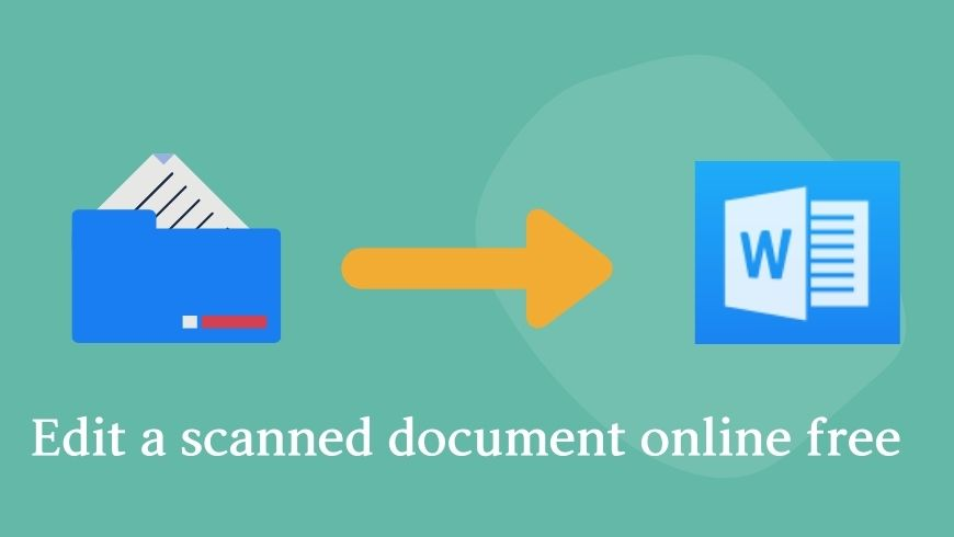 edit a scanned document online free