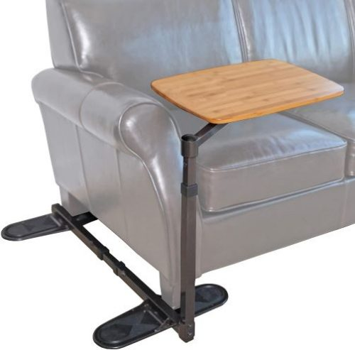 Able Life Universal Swivel TV Tray Table, Portable Laptop and keyboard Desk, Adjustable Couch Desk for Computers