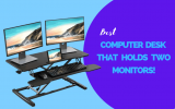 7 affordable computer desk that holds two monitors of 2021