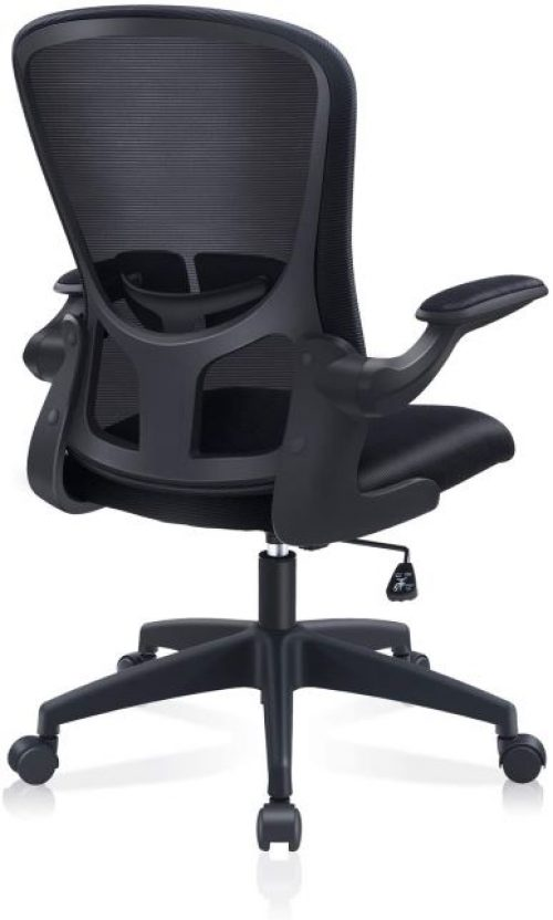Office Chair, FelixKing Ergonomic Desk Chair with Adjustable Height, Swivel Computer Mesh Chair with Lumbar Support and Flip-up Arms, Backrest with Breathable Mesh