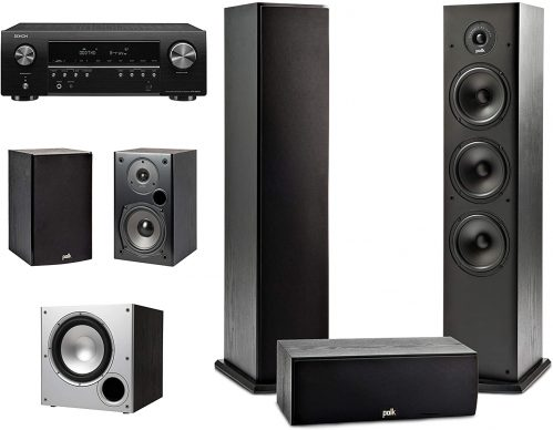 Polk home theater system for movies