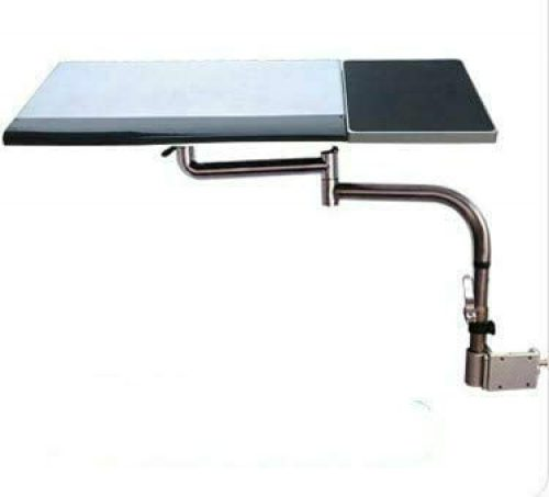 Sunter98 Chair Leg Clamping Keyboard and mouse tray holder laptop desk