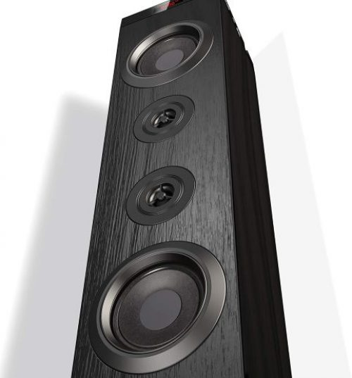 Floor Standing Speakers Home Theater, VENLOIC Bluetooth Tower Speakers with Bass
