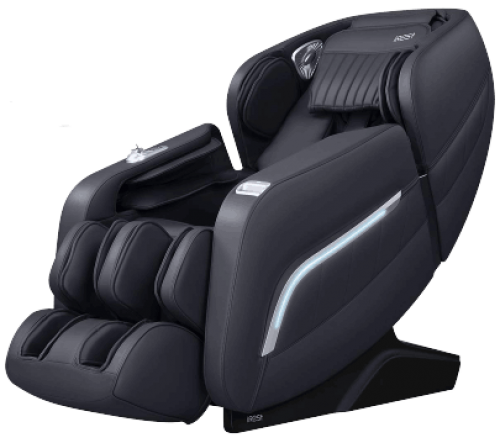 Full Body Zero Gravity Recliner with AI Voice Control, Handrail Shortcut Key, SL Track, Bluetooth, Yoga Stretching, Foot Rollers, Airbags, Heating