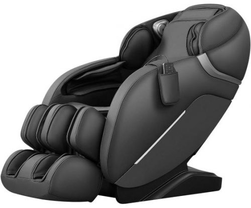 Full Body Massage Chair with Thai Stretch, Zero Gravity, Bluetooth Speaker, Airbags, and Thai Foot Massage, Space-Saving